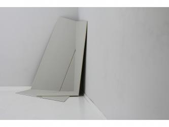 Eckblatt I 2013 I 2 plasterboards á 12,5 mm I 153 x 120 x 70 cm