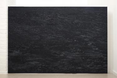 MN 3 (series: Mares negros) I 2014 I Acrylic on canvas I 220 x 150 cm I Photo © C. Ambrus
