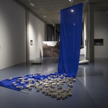 Installation view, pilote : milieu