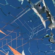 """KATHRIN GANSER: untitled (Landsat/Copernicus Muc)/ from the archive """"Digitale Ruinen"""", 2018, Fine Art Print, 60 × 60 cm © Kathrin Ganser/ VG Bild-Kunst"""