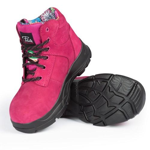 Pilote et Filles   Bottes de sécurité pour femme   Woman Safety Footwear