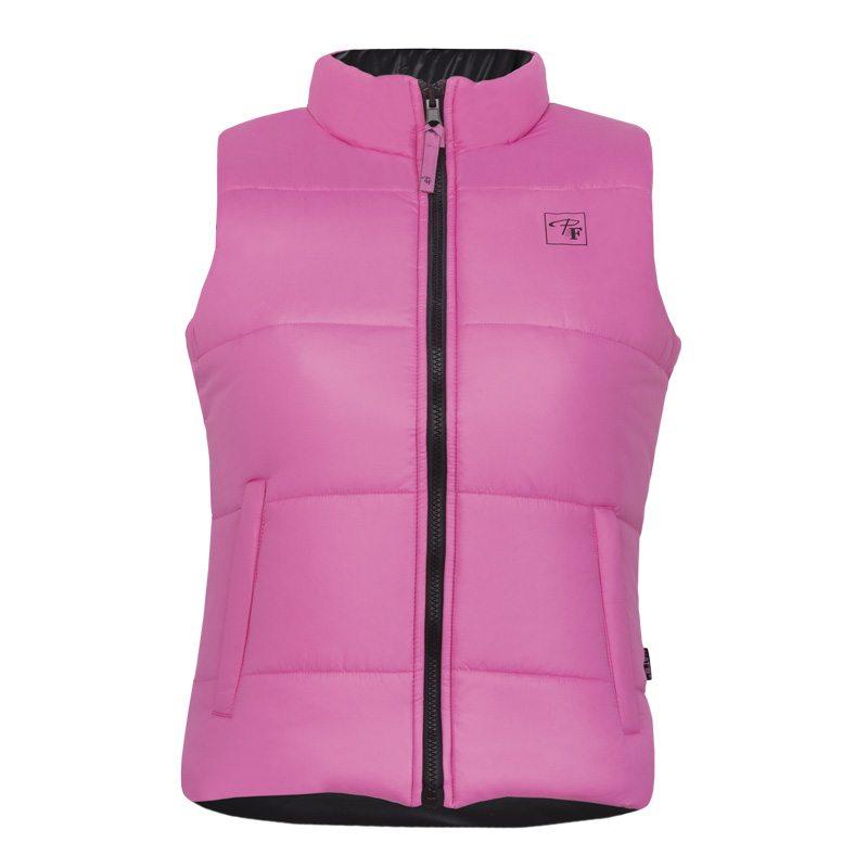 Pilote et filles | Veste isolée réversible | Reversible insulated vest