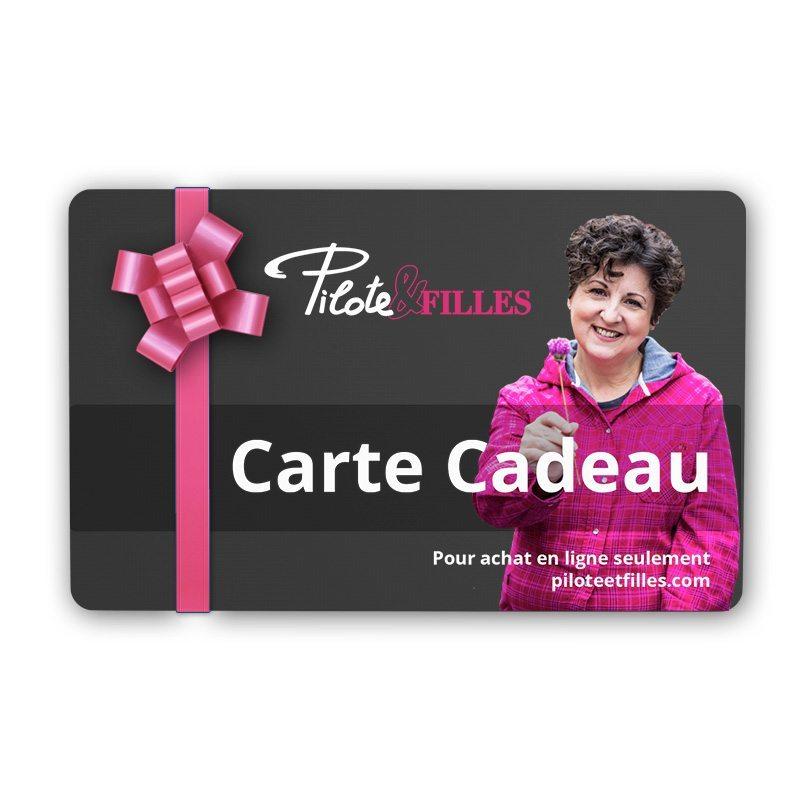 Carte Cadeau Pilote et filles