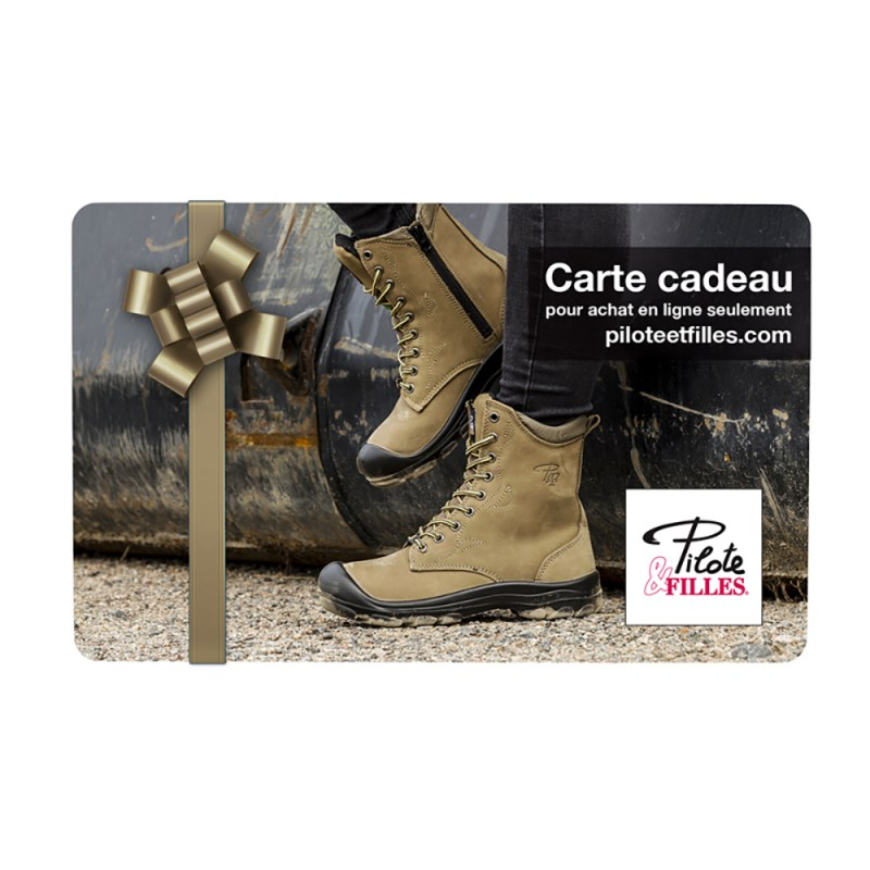 Carte Cadeau Pilote & Filles - V7