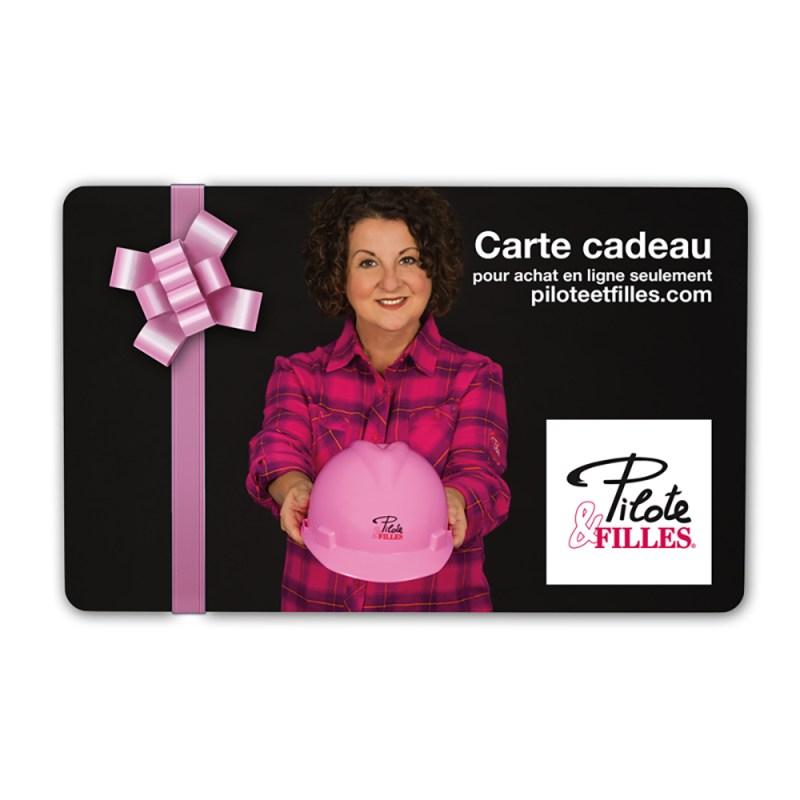 Carte Cadeau Pilote & Filles - V11