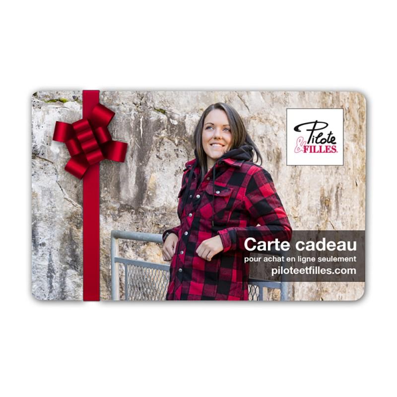 Carte Cadeau Pilote & Filles - V16