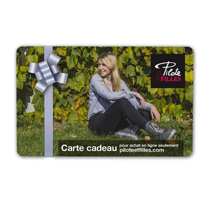 Carte Cadeau Pilote & Filles - V25