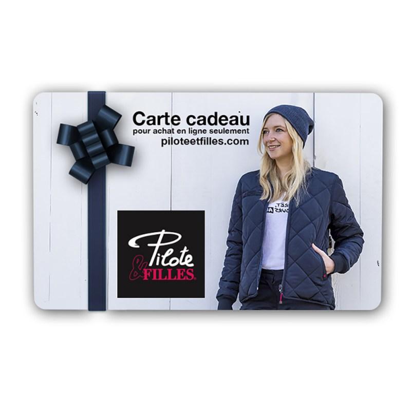 Carte Cadeau Pilote & Filles - V26