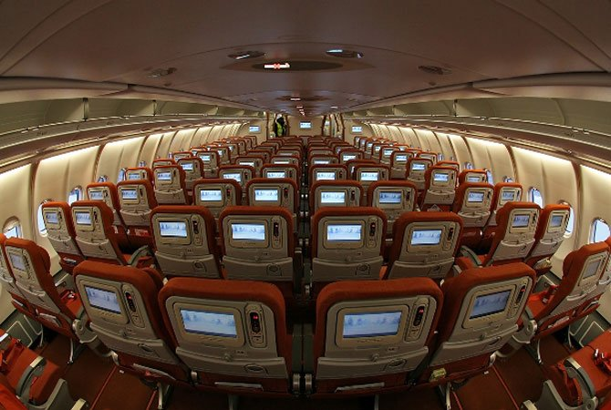 Аэробус А330 200-салон
