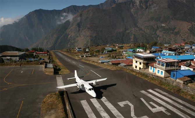 Аэропорт Лукла, Непал фото