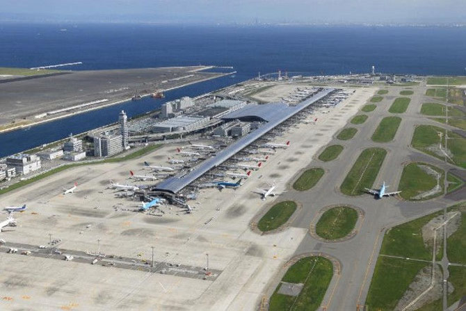 Аэропорт Осаки. Кансай фото