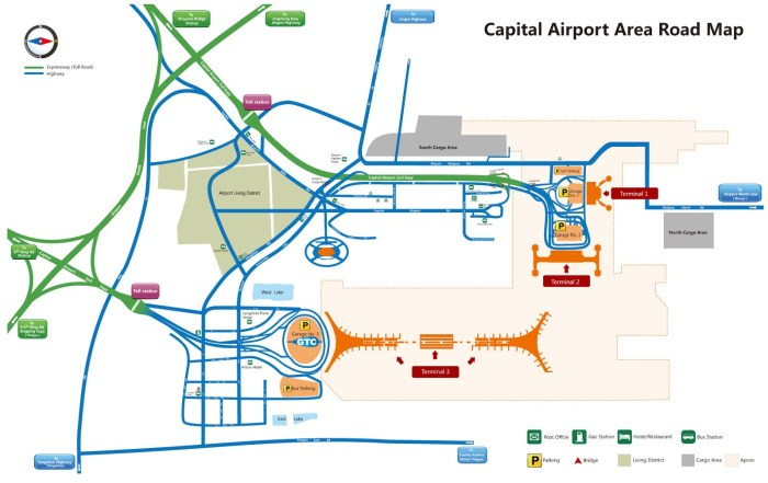 Аэропорт Шоуду схема