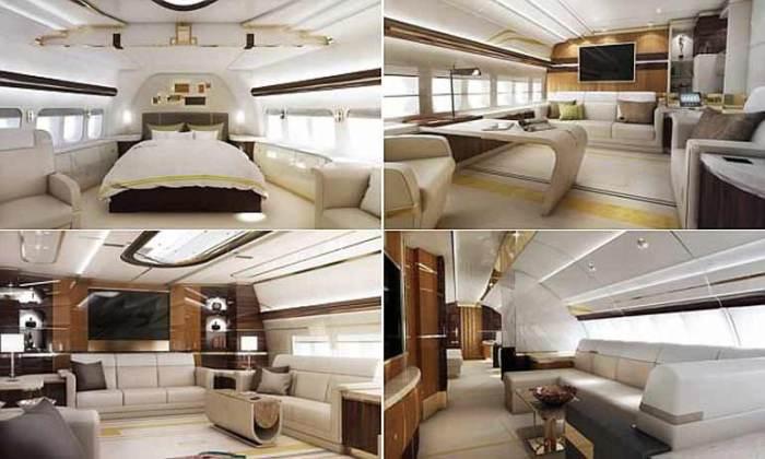 Boeing 747-8 inside