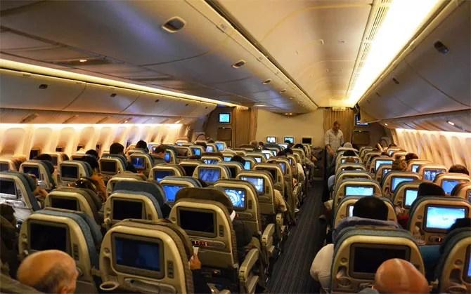 Боинг 777 фото салон