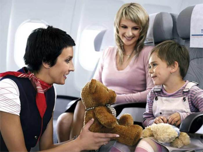 Что делать, если летать боится ребенок