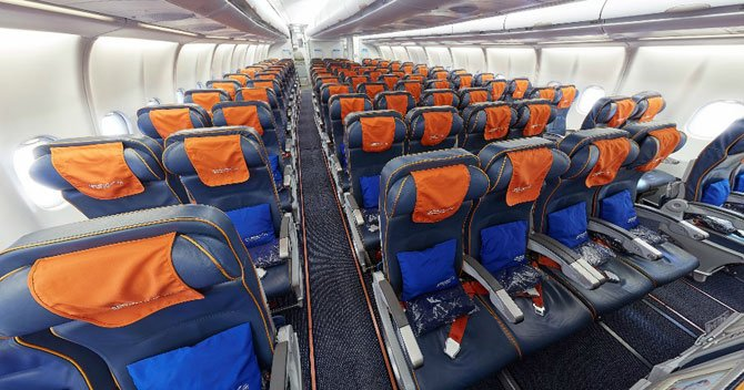 Комфорт на борту Аэрофлот-А330-300