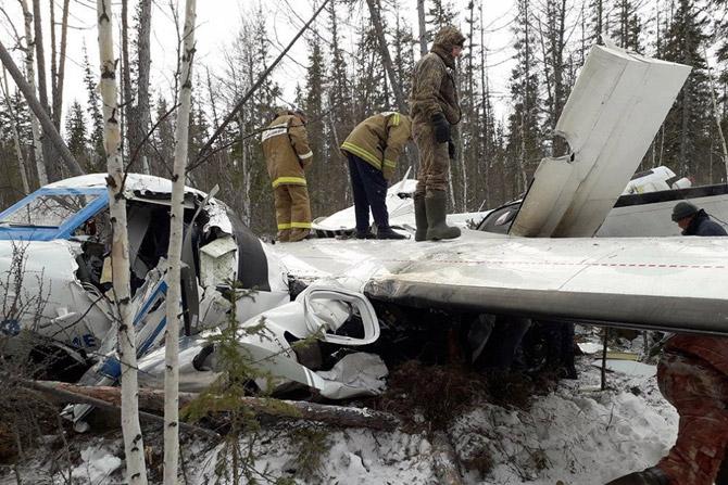 Крушение l 410 в Хабаровском крае