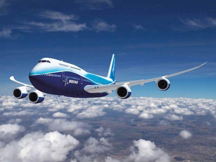 высота полета Боинг 747