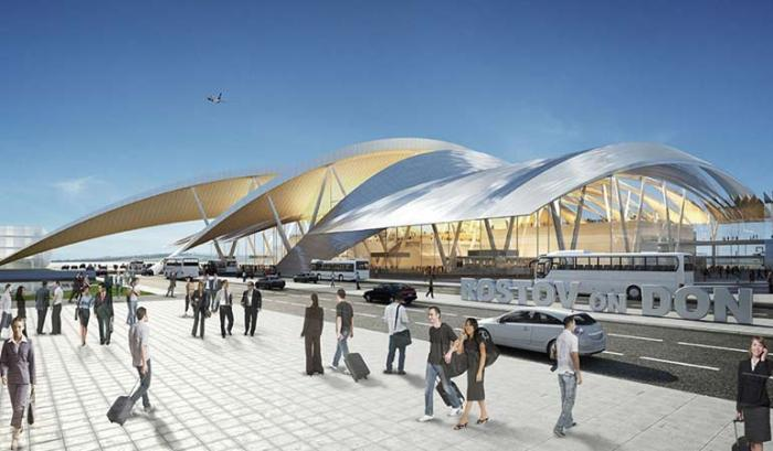 аэропорт Платов в Ростове на Дону