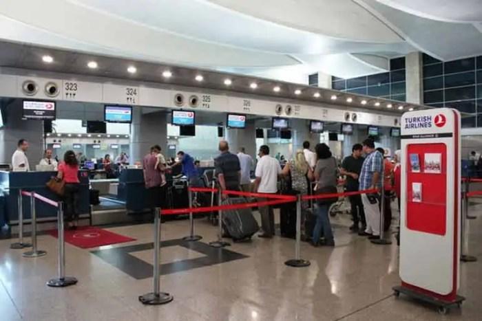 Регистрация на рейс турецкие авиалинии