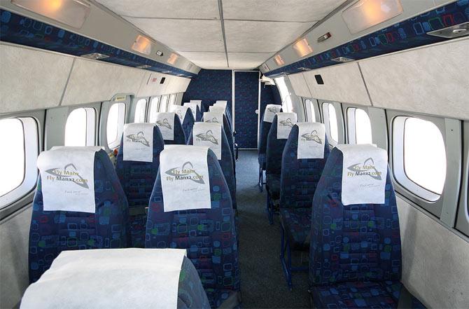 Самолет Let 410 салон