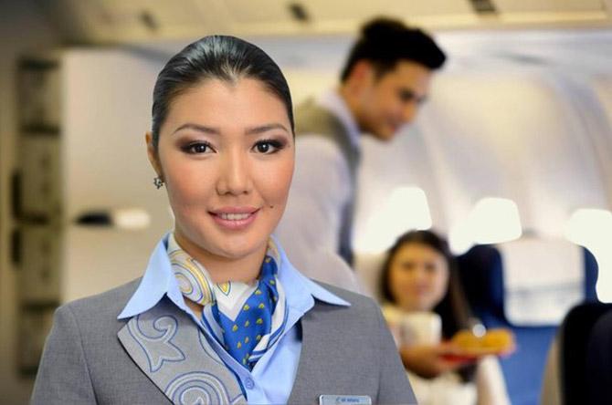 Сколько получают стюардессы в Казахстане
