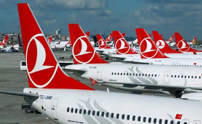 Turkish Airlines airplanes