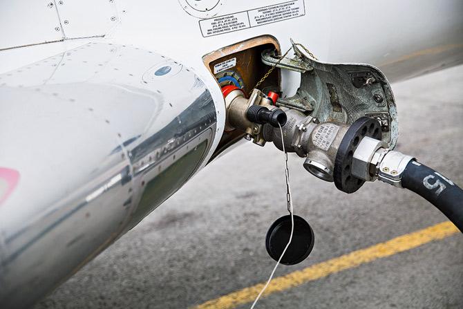 Авиакеросин для пассажирских самолетов