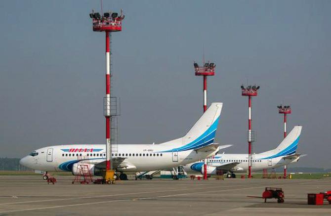 Авиакомпания Ямал самолеты