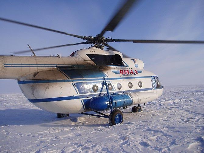 Авиакомпания Ямал вертолетные услуги