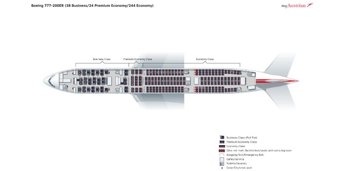 Боинг-777 схема салона