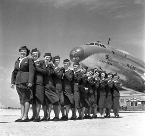История KLM