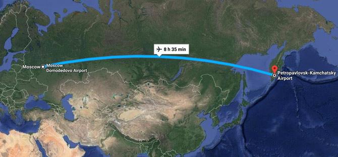 Карта Елизово Москва