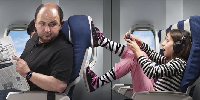 Места для пассажиров с детьми