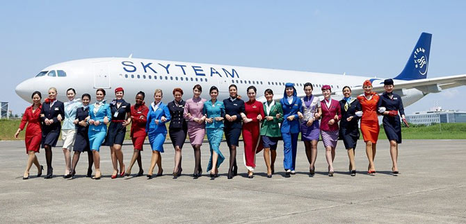 Skyteam партнеры Аэрофлота