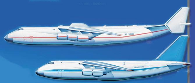 Сравнение Ан-124 и Ан-225