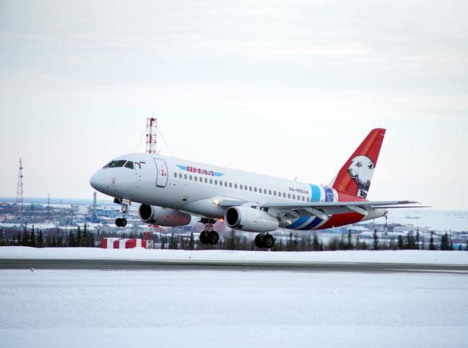 Ямал Sukhoi SuperJet 100-95LR