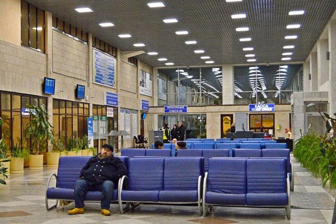 Аэропорт Липецк внутри