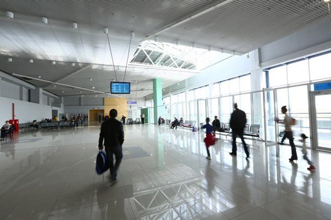 Внутри аэропорта Якутия