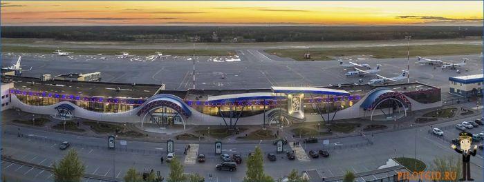 Аэропорт Сургут фото 1