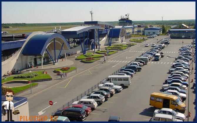 Парковка аэропорта Сургут