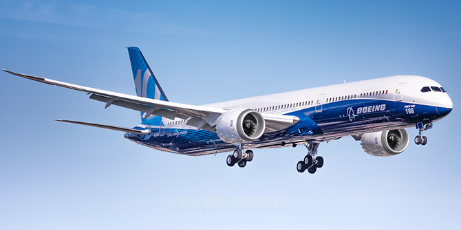 Боинг 787 преимущества