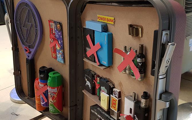 Что нельзя провозить в багаже