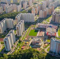 Съемка недвижимости и строительства с квадрокоптера