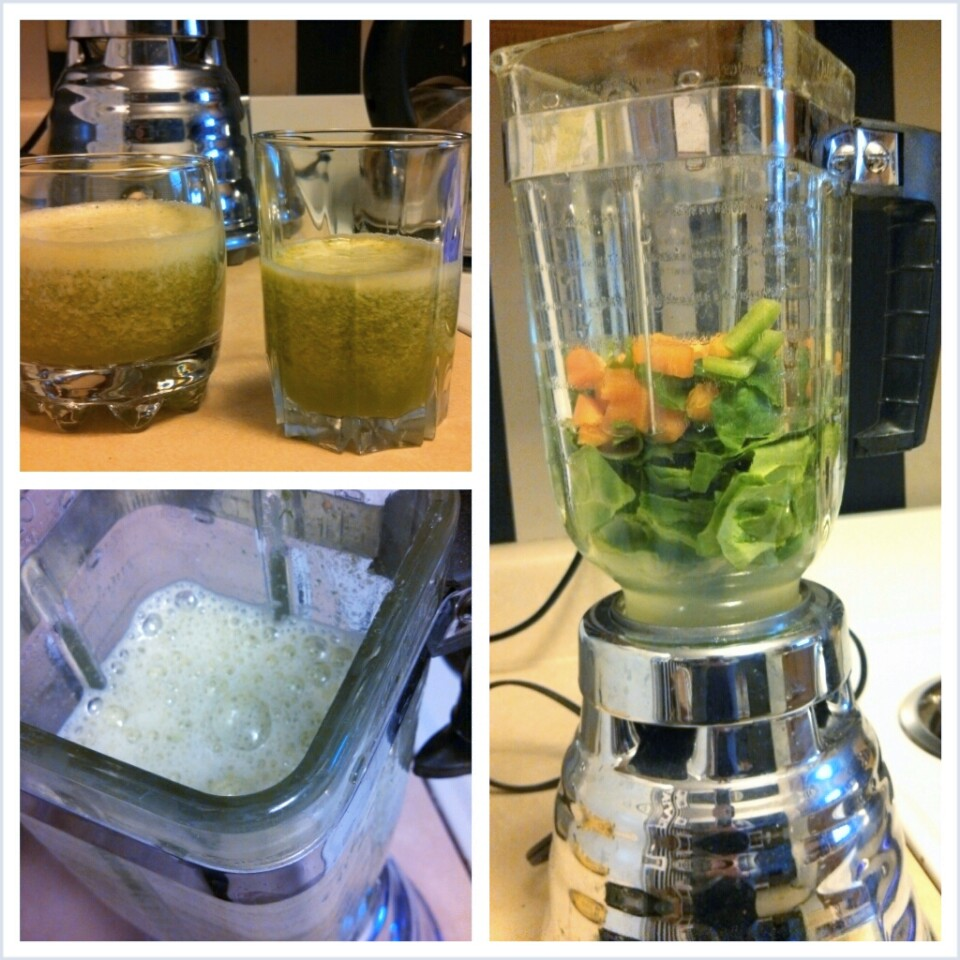 Green Smoothie {PIlotingPaperAirplanes.com}