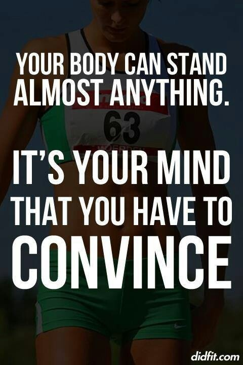 How strong is your mind? #Inspiration #Training #Motivation #run #fitness {PilotingPaperAirplanes.com}
