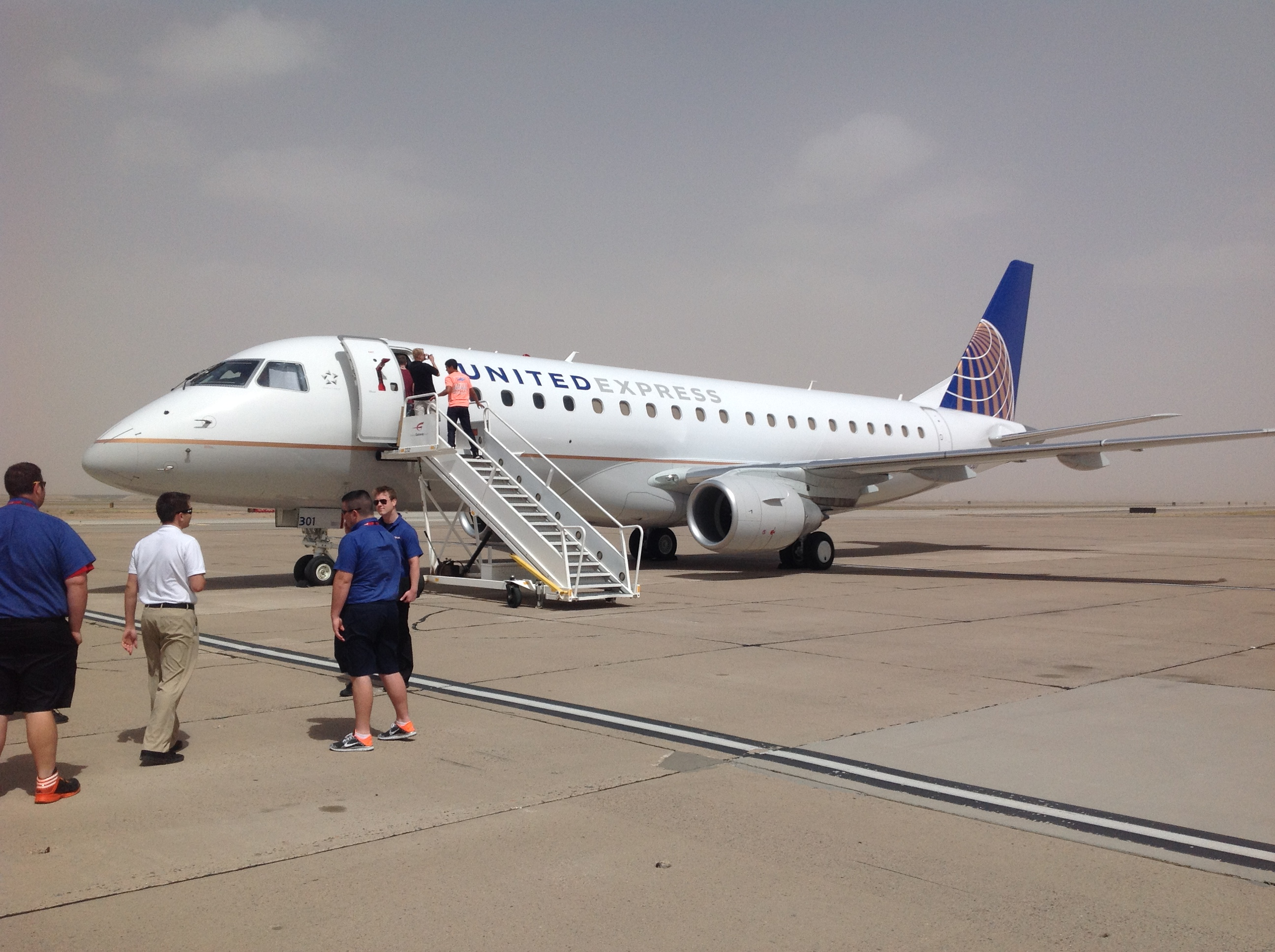 MESA AIRLINES VISITS ATPS PHOENIX TRAINING CENTER WITH