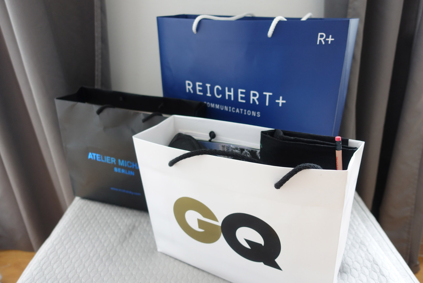 berlin fashion week goodie bags