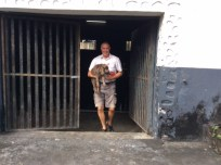 Randy & Patton exiting the Boiling House