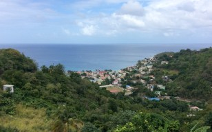 Canaries, Fishing Village, St. Lucia